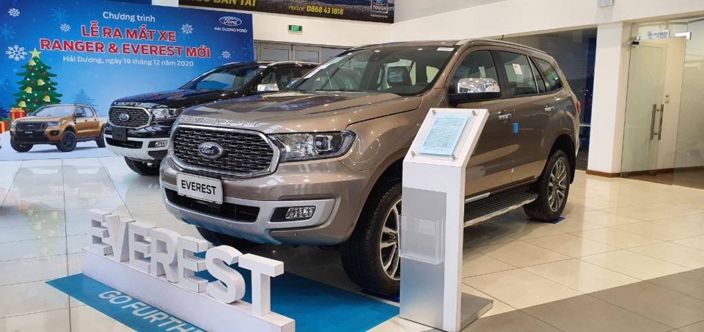 Ford Everest 2021 tại Đại lý Ford Hải Dương