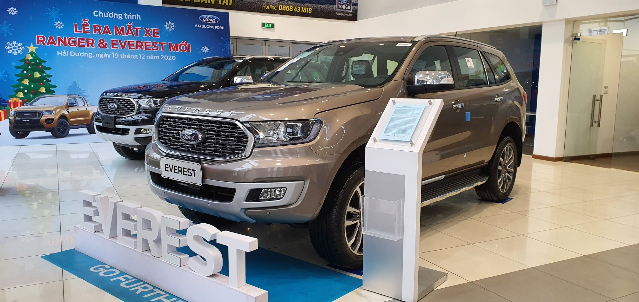 Tổng quan Ford Everest 2021