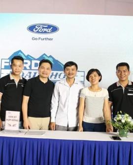 Hình ảnh chương trình lái thử xe Ford- Roadshow tại Hải Dương