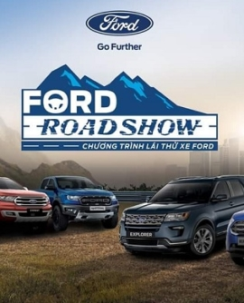 Roadshow lái thử xe Ford tại Hải Dương