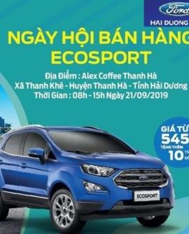Ngày hội bán hàng Ecosport Hải Dương Ford