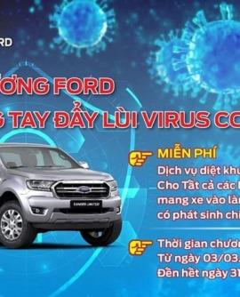 Hải Dương Ford chung tay đẩy lùi Virus Corona