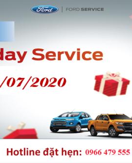 Dịch Vụ Ngày Chủ Nhật -Sunday Service – tại Hải Dương Ford ngày 19/7/2020