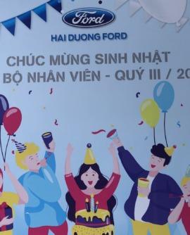 Ford Hải Dương tổ chức Sinh nhật cho CBCNV quý III năm 2020
