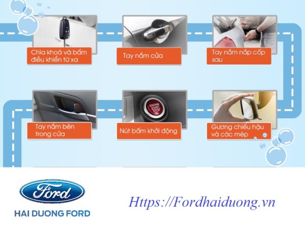 Các chi tiết thường xuyên tiếp xúc khi sử dụng xe bạn nên chú ý vệ sinh  thường xuyên