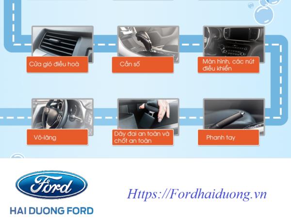 Các chi tiết trong quá trình vận hành xe mà bạn nên chú ý vệ sinh thường xuyên để phòng dịch