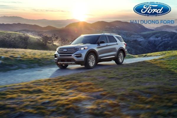 Ford Explorer 2020 thay đổi hoàn toàn từ ngoại thất đến nội thất