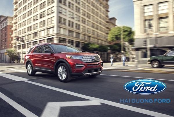 Hình ảnh Ford Explorer 2020 trên đường chạy thử tại Mỹ
