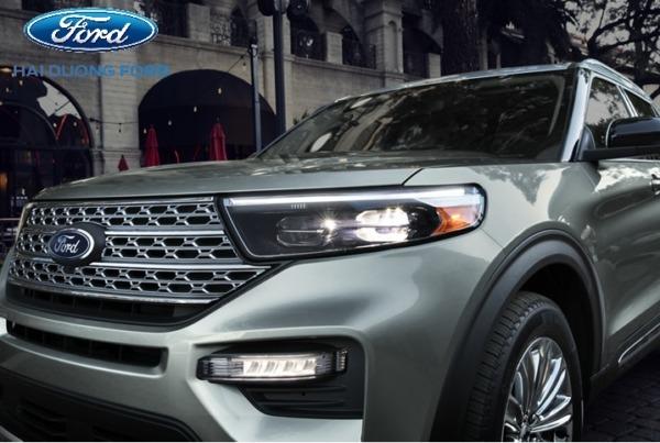 Phần đầu xe Ford Explorer 2020