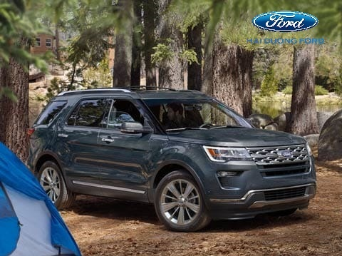Thân xe Ford Explorer 2020 mới