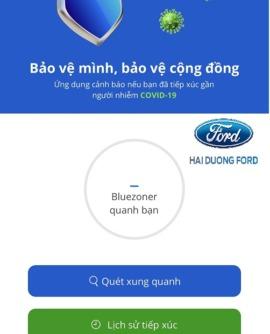 """Ứng dụng BLUEZONE, """"Khẩu trang điện tử Bluezone"""""""