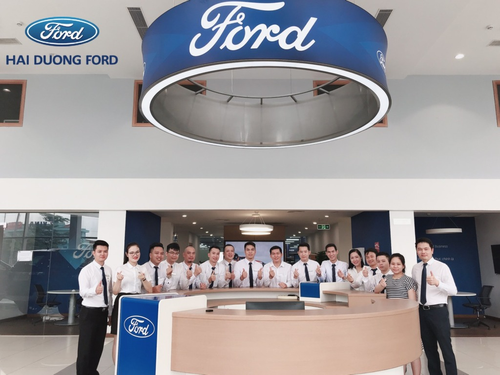 Đại lý ford tại Hải Dương tuyển dụng tháng 9-2020