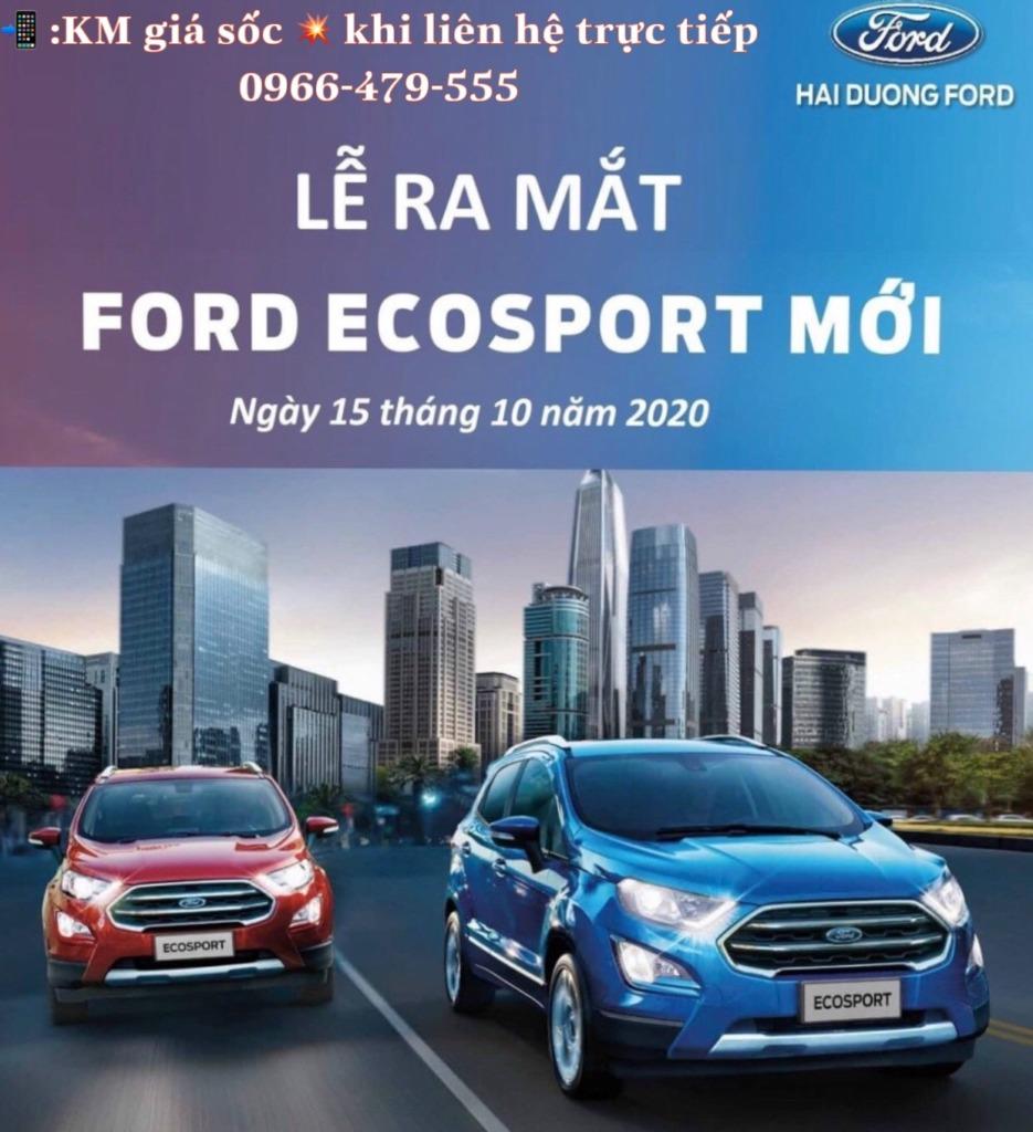 Lễ ra mắt Ford Ecosport 2020 tại Showroom đại lý Hải Dương Ford
