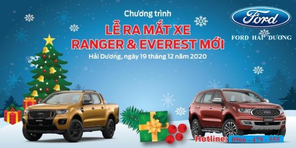 Lễ Ra Mắt xe Ford Ranger và Everest  Mới
