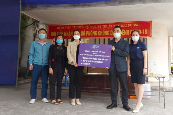 Ford Việt Nam đồng lòng, góp sức cùng tỉnh Hải Dương chiến thắng COVID-19