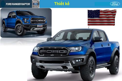 Ranger Raptor được thừa hưởng cấu trúc DNA của dòng xe Pick up danh tiếng của Ford trên toàn cầu Ford F150 Raptor  - Tiết lộ về Ranger Raptor 2021