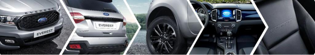 Ford Everest Sport 2021 Thiết kế ấn tượng