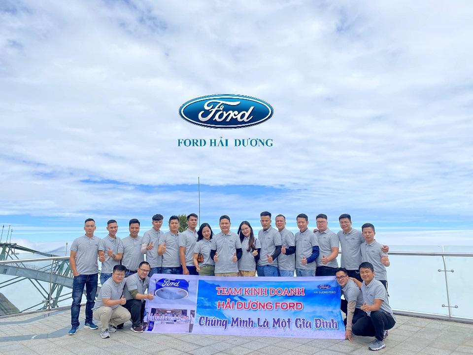 Team Kinh doanh Đại lý Ford Hải Dương
