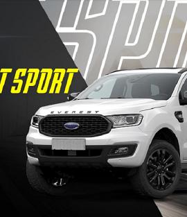 Tiết lộ Ford Everest Sport 2021 Mới