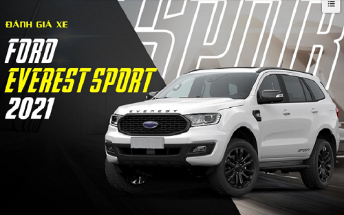 Ford Everest Sport 2021