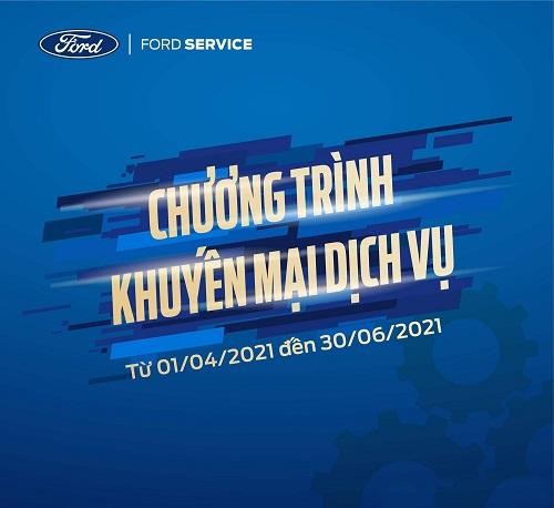 Chương Trình khuyến mại dịch vụ Đại lý Hải Dương Ford