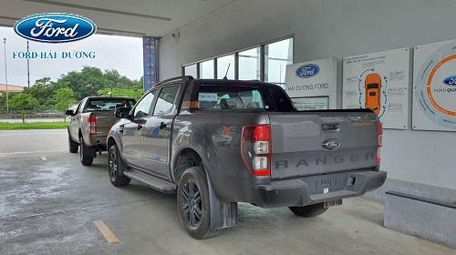Hình ảnh Ford Ranger 2021 2022 lắp ráp tại Ford Hải Dương Xuất hiện tại showroom Đại lý Ford Hải Dương