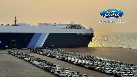 Lô xe nhập khẩu tại cảng nội địa