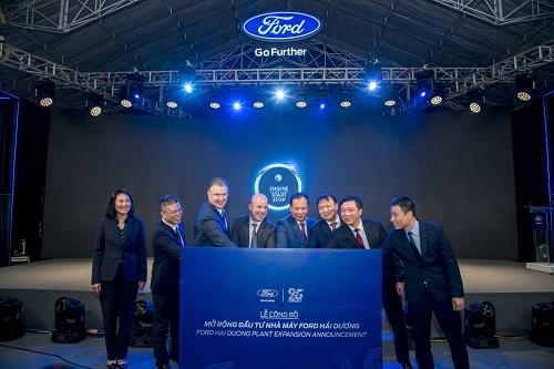 Mở rộng đầu tư nhà máy Ford Hải Dương