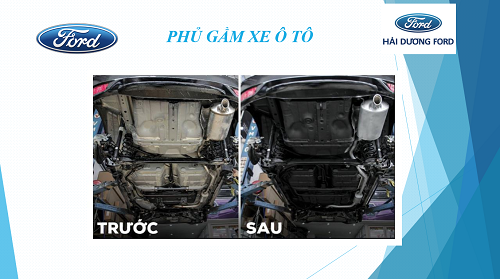 Trước và sau khi sơn phủ gầm Inter Troton nhập khẩu Polan