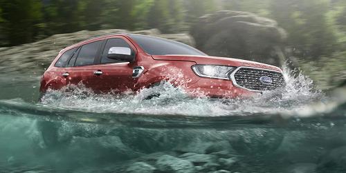 Ford Everest FECV 2022  vận hành bền bỉ trong nhiều điều kiện khắc nghiệt