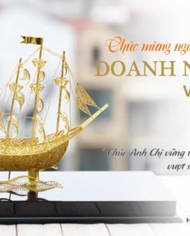 Đại lý Ford Hải Dương chúc mừng nhân ngày Doanh nhân Việt Nam 13/10