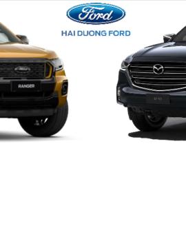 So sánh Ford Ranger 2022 và  Mazda BT-50 2022 Thế hệ mới